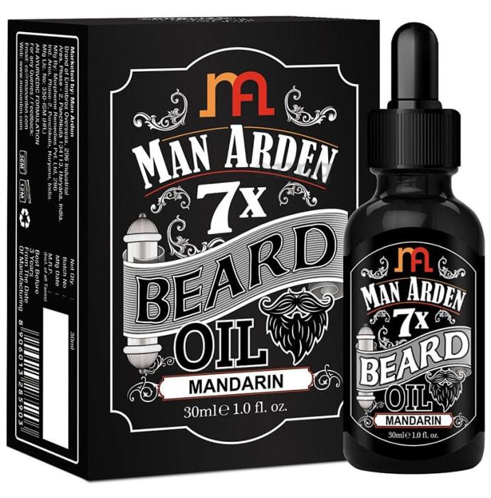 Man Arden 7X Beard Oil Mandarin