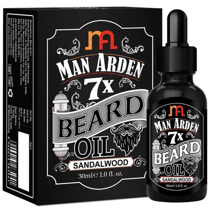 Man Arden 7X Beard Oil Sandalwood