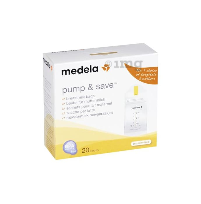 Medela Pump and Save Breastmilk Bag