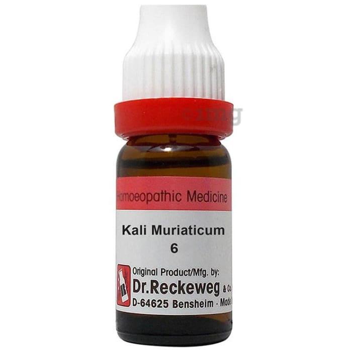 Dr. Reckeweg Kali Muriaticum Dilution 6 CH