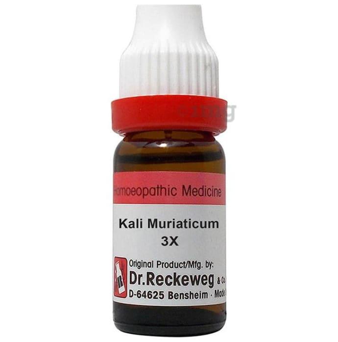 Dr. Reckeweg Kali Muriaticum Dilution 3X