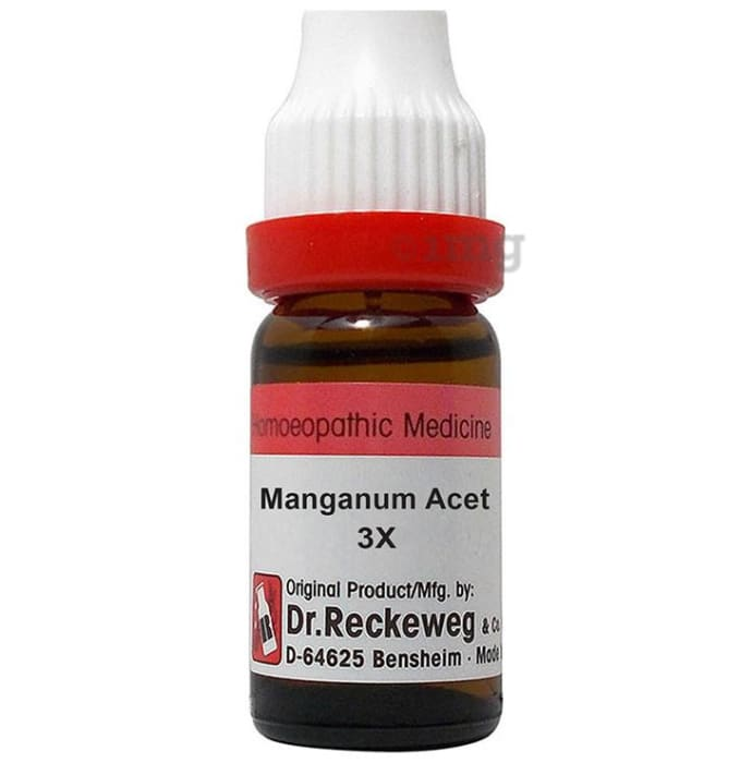 Dr. Reckeweg Manganum Acet Dilution 3X