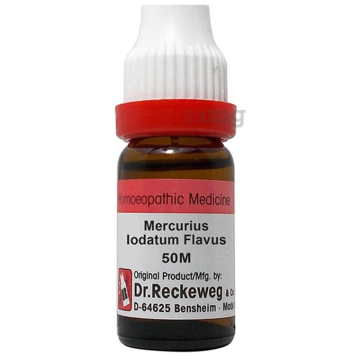 Dr. Reckeweg Mercurius Iodatum Flavus Dilution 50M CH