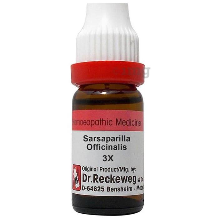 Dr. Reckeweg Sarsaparilla Officinalis Dilution 3X
