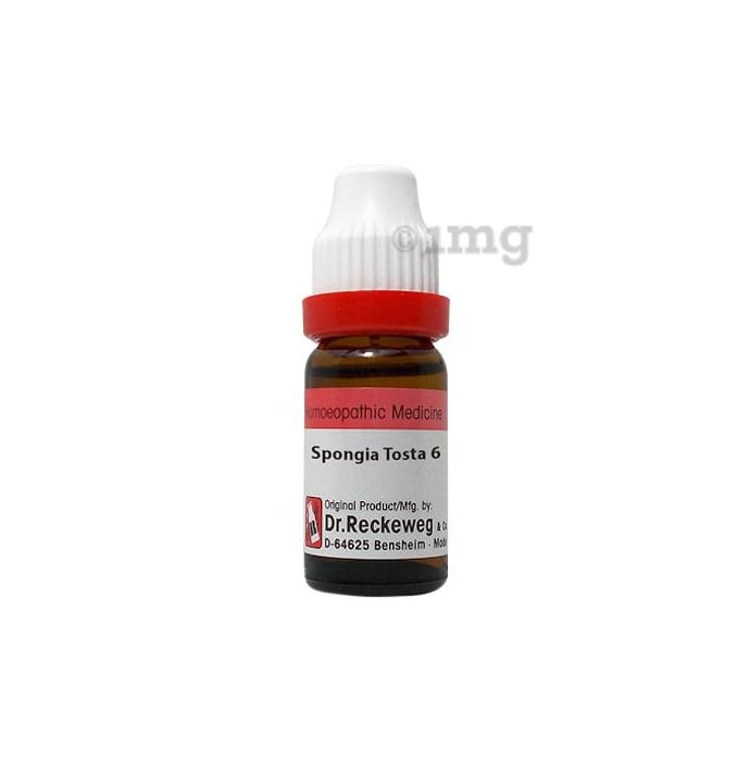Dr. Reckeweg Spongia Tosta Dilution 6 CH