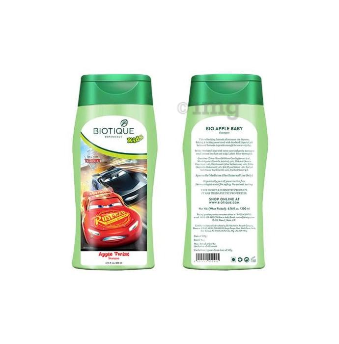 Biotique Disney Pixar Cars  Apple Twist Shampoo