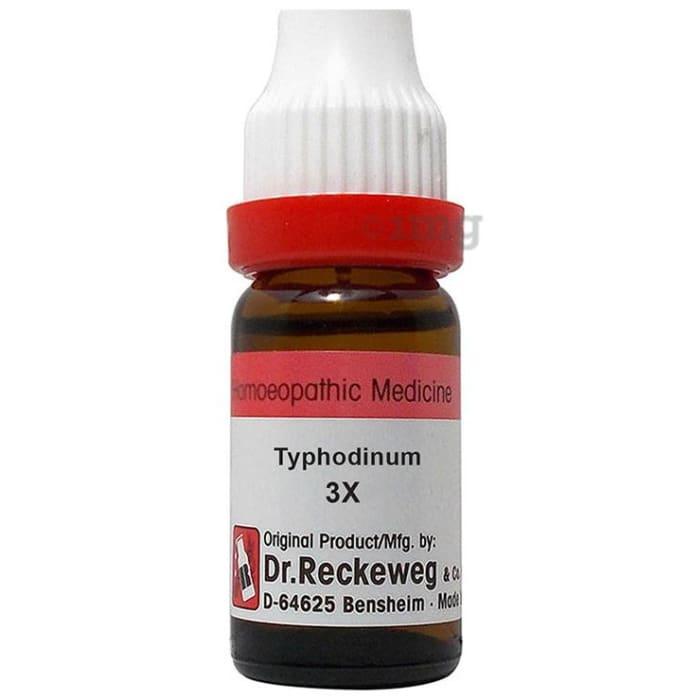 Dr. Reckeweg Typhodinum Dilution 3X