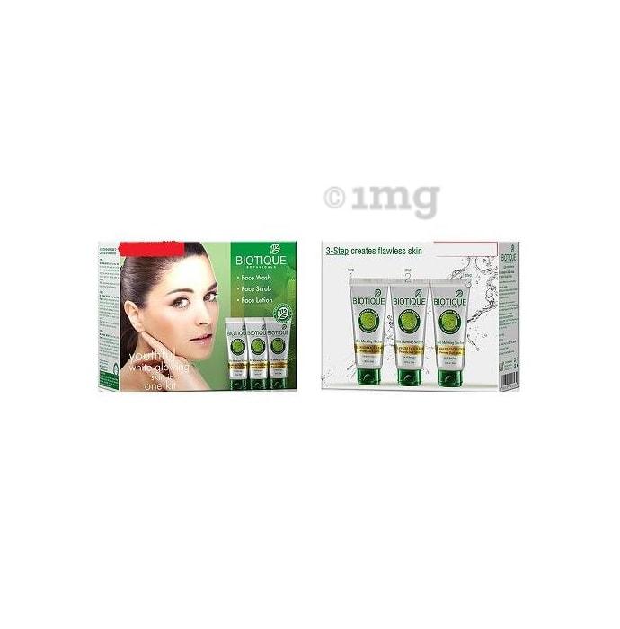 Biotique Regimen Youthful White Glowing Skin in One Kit