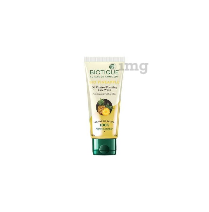 Biotique Bio Pine Apple Oil Balancing Face Wash for Oily Skin