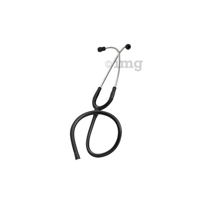 3M Littmann Stethoscope Binaurals for Classic II S.E Pediatric and Infant, Black Tube, 28 inch