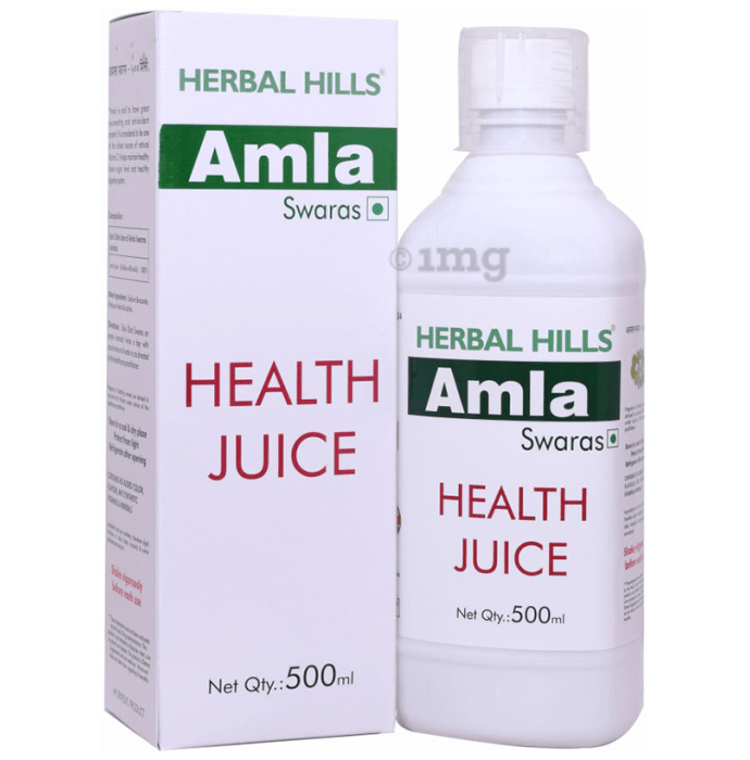 Herbal Hills Amla Swaras Health Juice Pack of 2