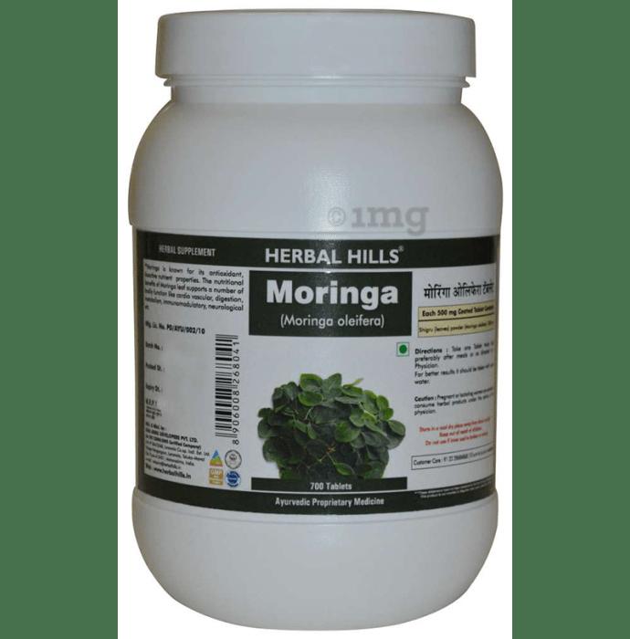 Herbal Hills Moringa 500mg Tablet Value Pack
