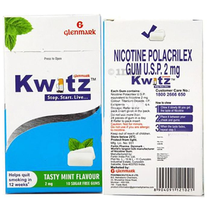 Kwitz 2mg Chewing Gums