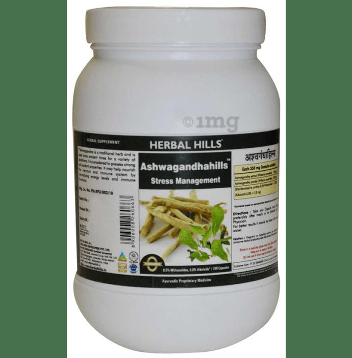 Herbal Hills Ashwagandhahills Capsule Value Pack