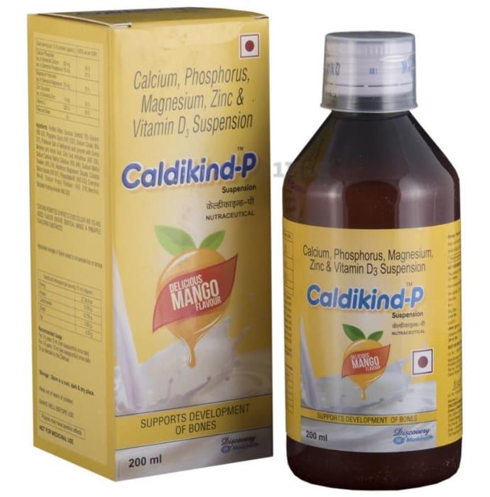 Caldikind -P Delicious Mango Oral Suspension