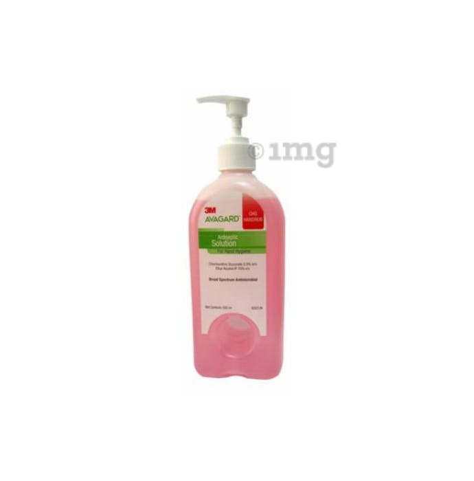 3M Avagard CHG Handrub Hand Sanitizer Antiseptic Solution