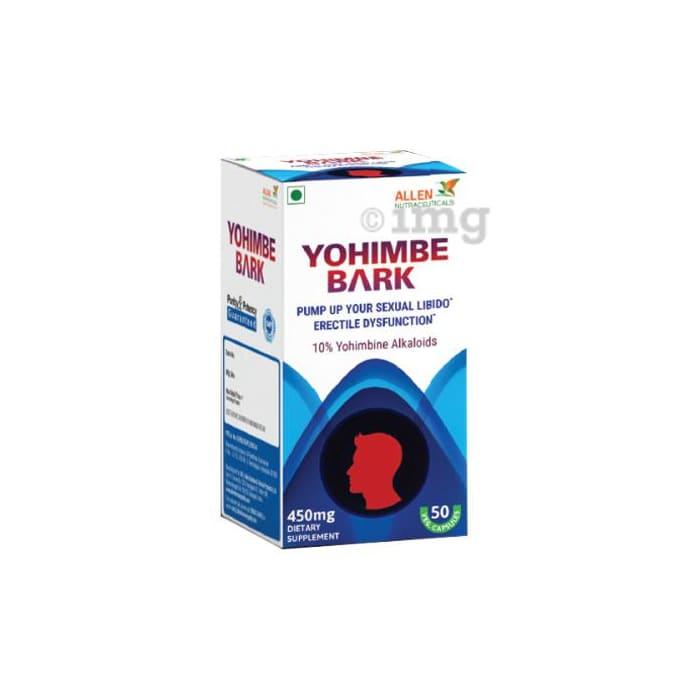 Allen Nutraceutical Yohimbe Bark 450mg Capsule