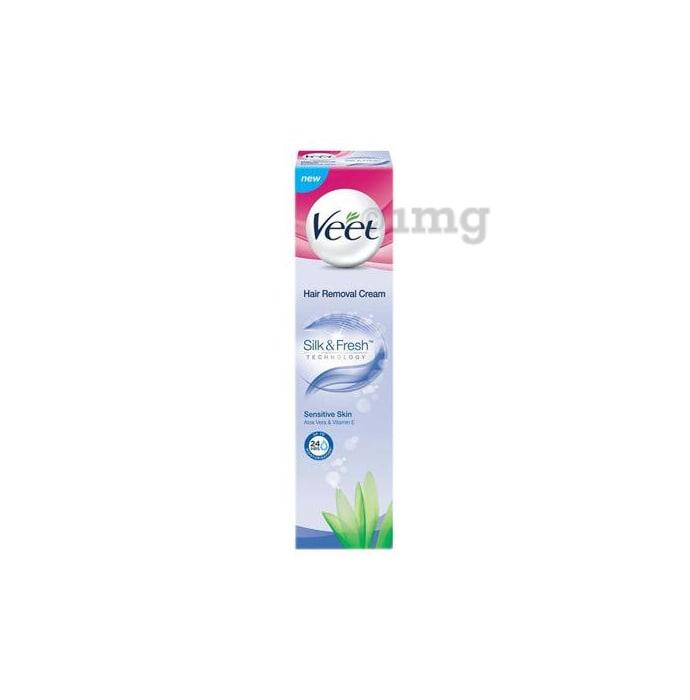 Veet Silk & Fresh Hair Removal Cream for Sensitive Skin