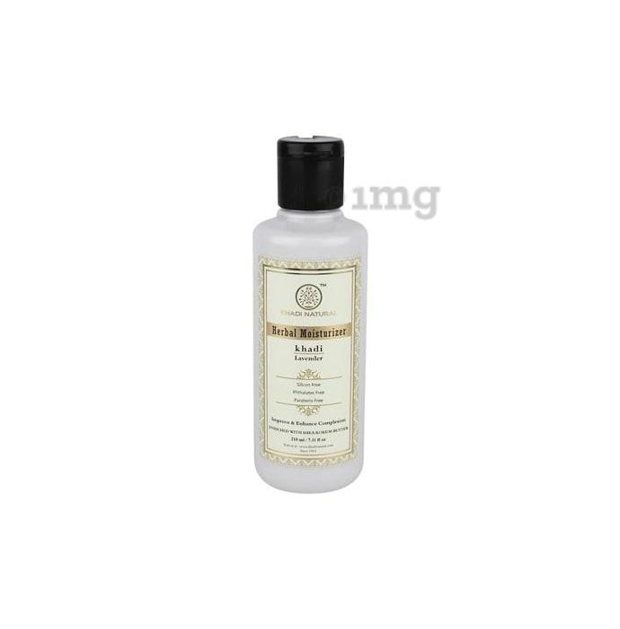 Khadi Naturals Ayurvedic Lavender Moisturiser SLS & Paraben Free