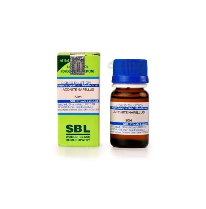 SBL Aconitum Napellus Dilution 50M CH