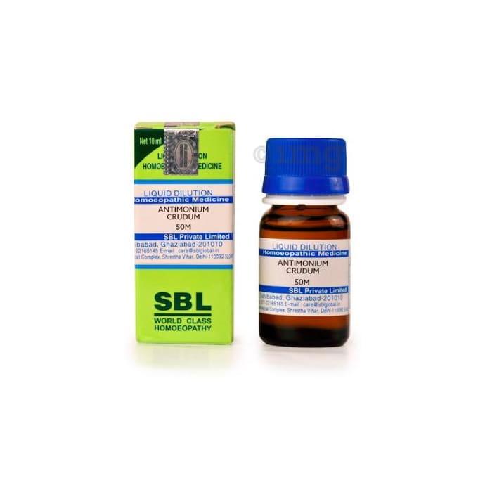 SBL Antimonium Crudum Dilution 50M CH