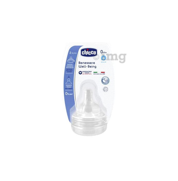 Chicco Wellbeing Normal Silicone 0m+Teat