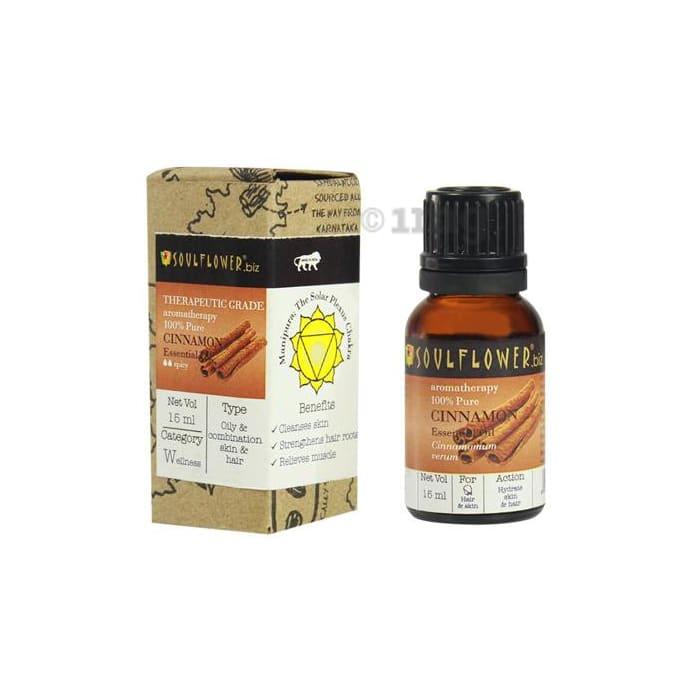 Soulflower Cinnamon Essential Oil