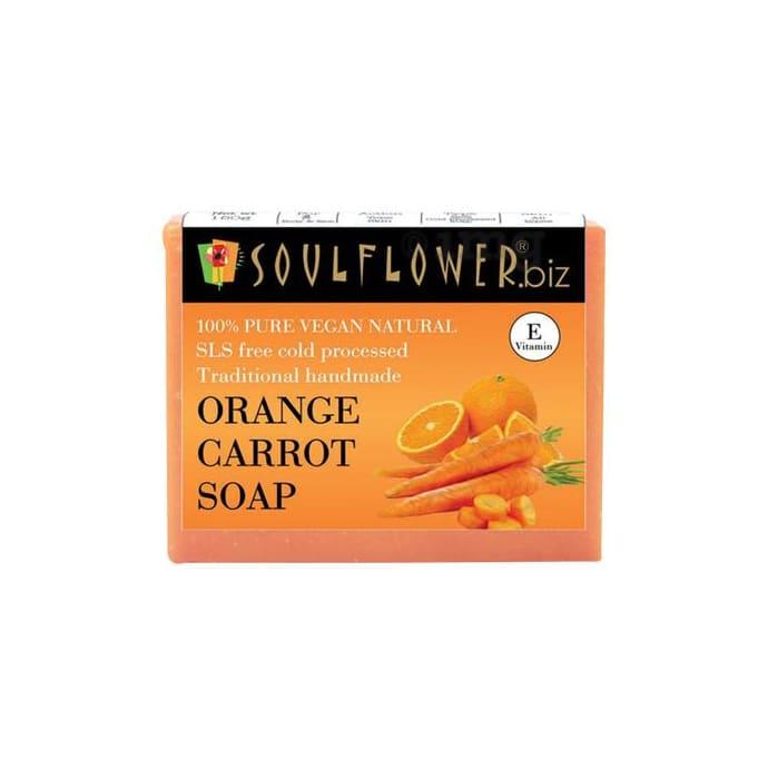 Soulflower Orange Carrot Soap