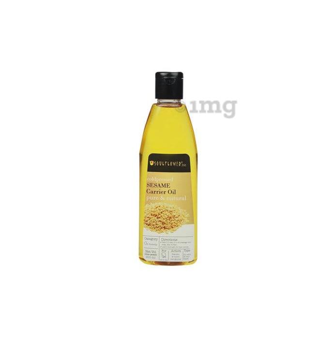 Soulflower Coldpressed Sesame Carrier Oil