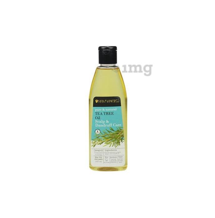 Soulflower Tea Tree Scalp & Anti Dandruff Oil