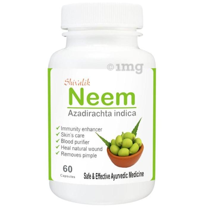Shivalik Herbals Neem 500mg Capsule Pack of 2