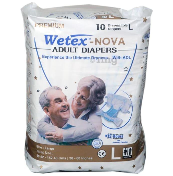 Wetex Nova Premium Adult Diaper Large