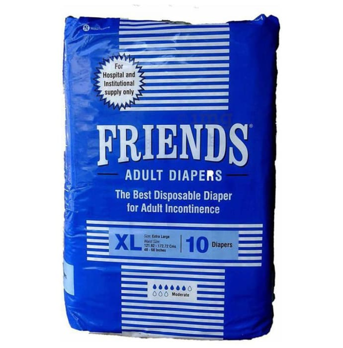 Friends Hospital Adult Diapers XL