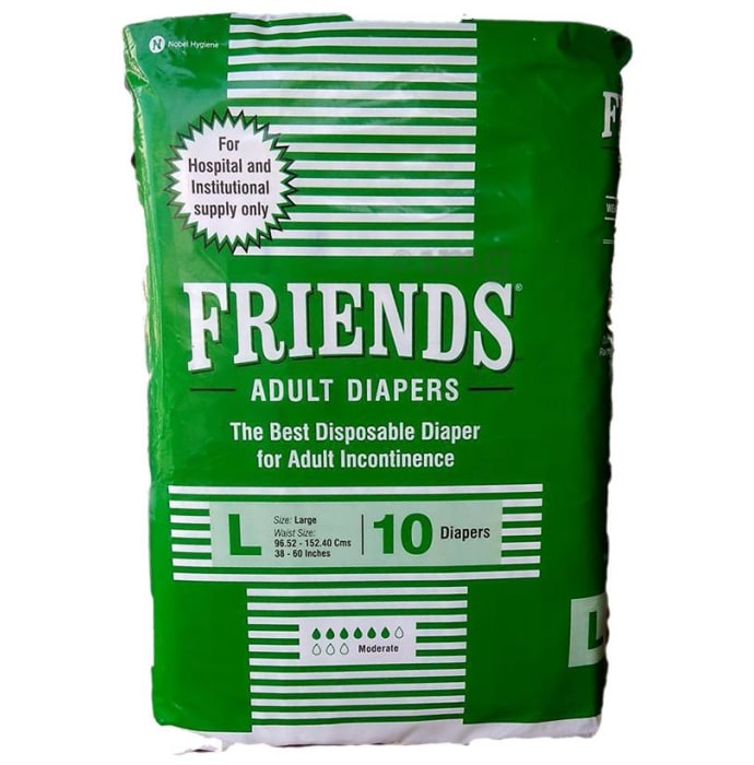 Friends Hospital Adult Diapers Large
