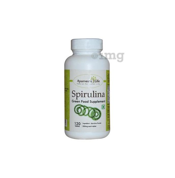 Ayurvedic Life Spirulina 500mg Tablet