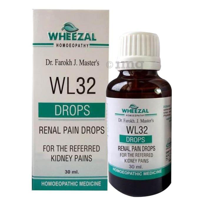 Wheezal WL32 Renal Pain Drop