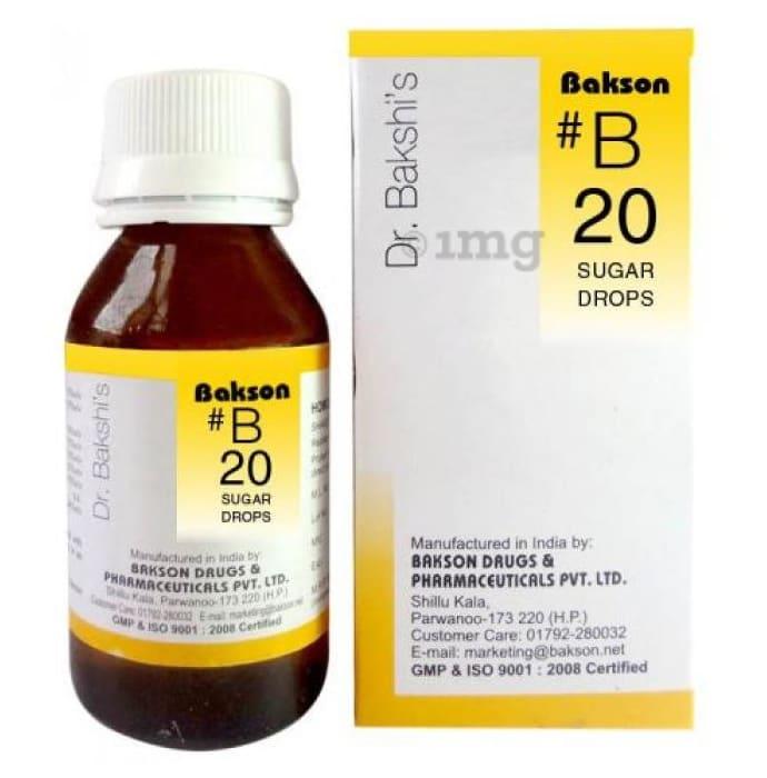 Bakson's B20 Sugar Drop