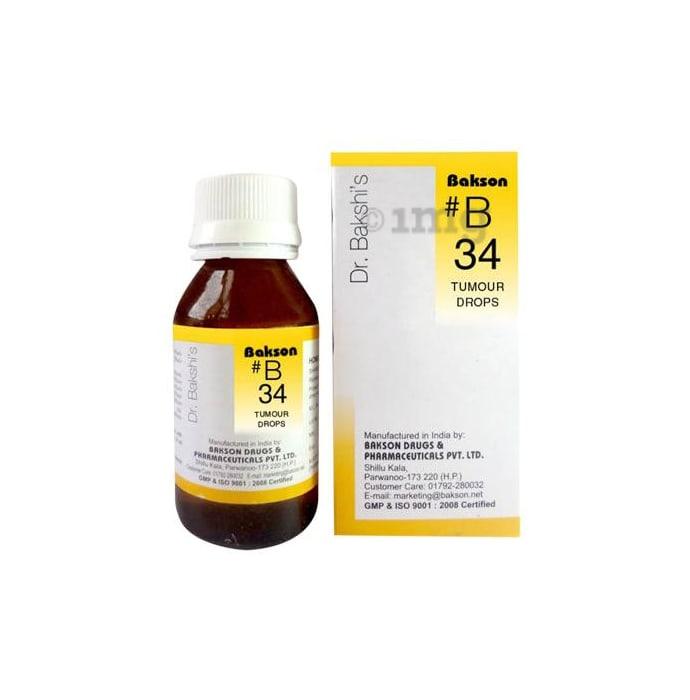 Bakson's B34 Tumour Drop