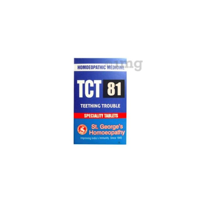 St. George's TCT 81 Teething Trouble Tablet