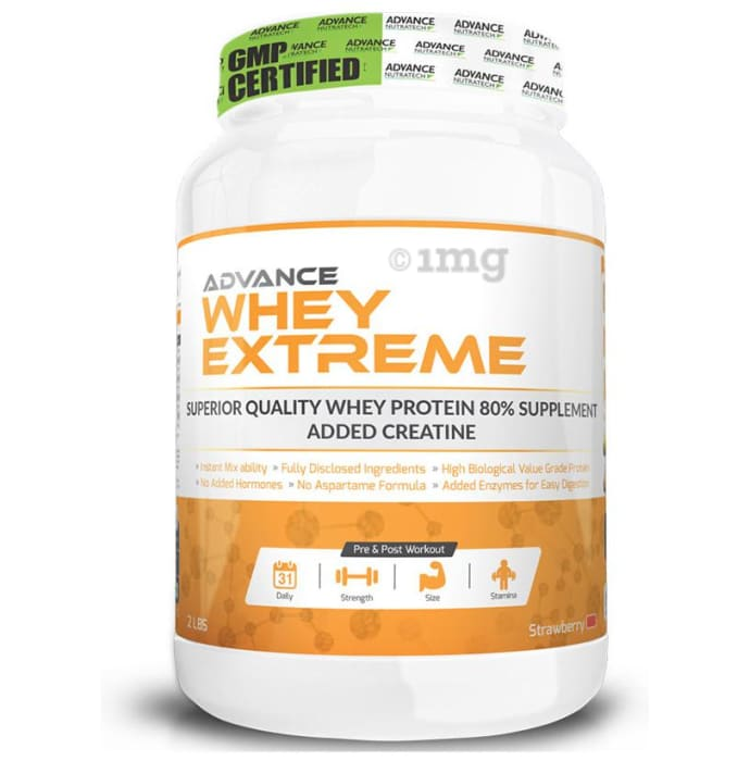 Advance Nutratech Whey Extreme Protein Powder Strawberry