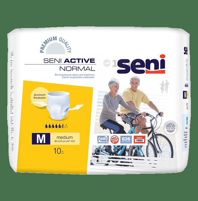 Seni Active Normal Elastic Disposable Underwear Diaper Medium
