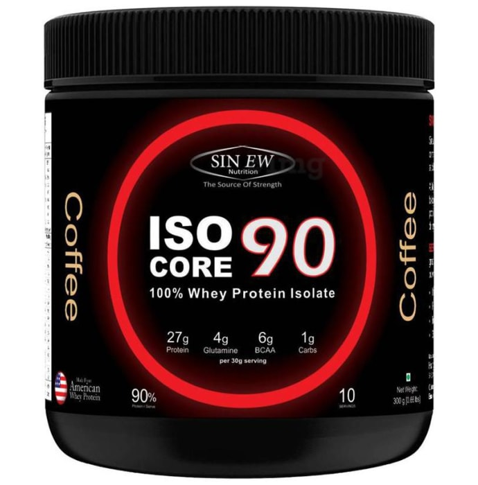 Sinew Nutrition Isocore 90 Whey Protein Isolate Coffee
