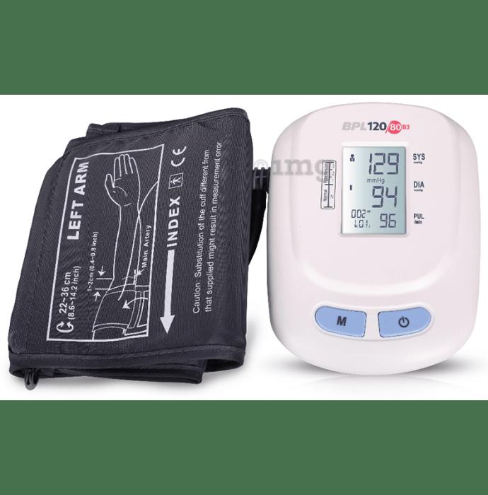 BPL B3 120/80 Blood Pressure Monitor White
