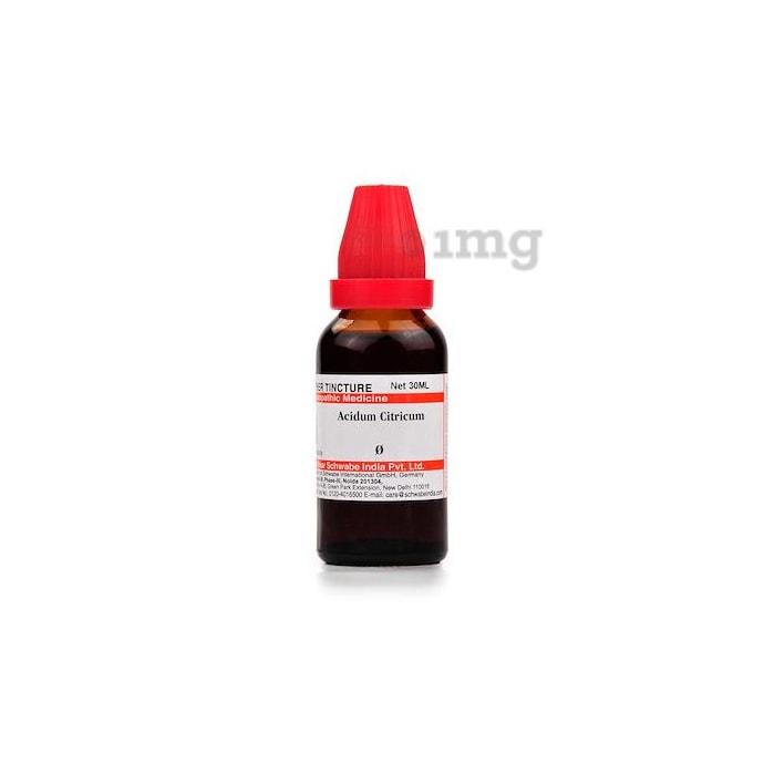 Dr Willmar Schwabe India Acidum Citricum Mother Tincture Q