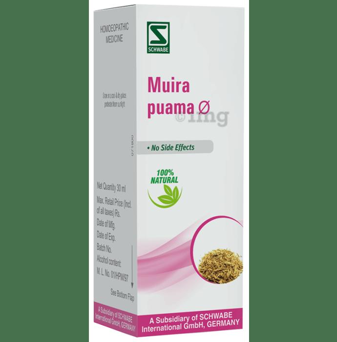 Dr Willmar Schwabe India Muira Puama Mother Tincture Q