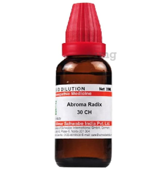 Dr Willmar Schwabe India Abroma Radix Dilution 30 CH