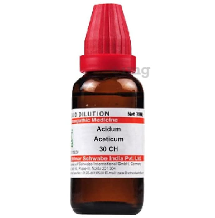 Dr Willmar Schwabe India Acidum Aceticum Dilution 30 CH