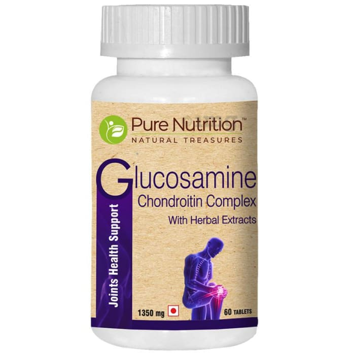 Pure Nutrition Glucosamine Chondroitin Complex with Herbal Extracts Tablet
