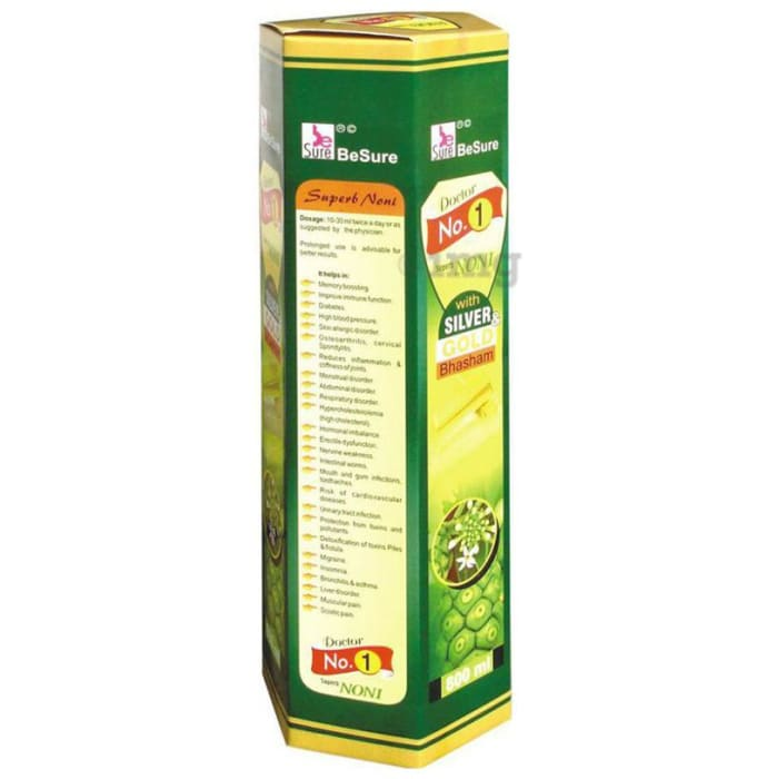 BeSure Doctor No.1 Noni Fruit Juice  with Silver Gold Bhasham