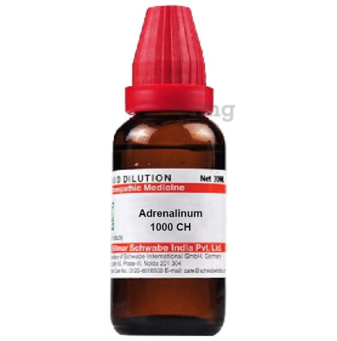 Dr Willmar Schwabe India Adrenalinum Dilution 1000 CH